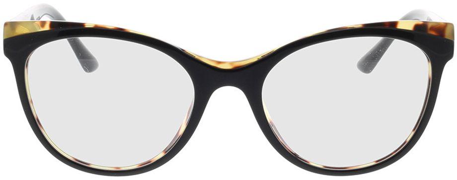 Picture of glasses model Prada PR 05WV 3891O1 53-19 in angle 0