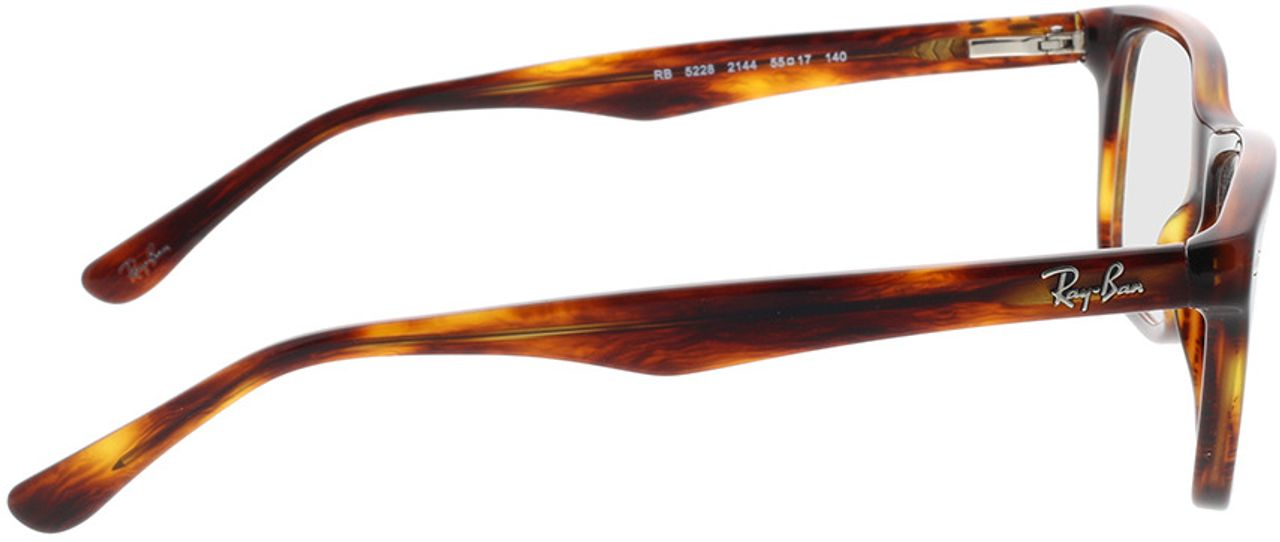 Picture of glasses model Ray-Ban RX5228 2144 55-17 in angle 90
