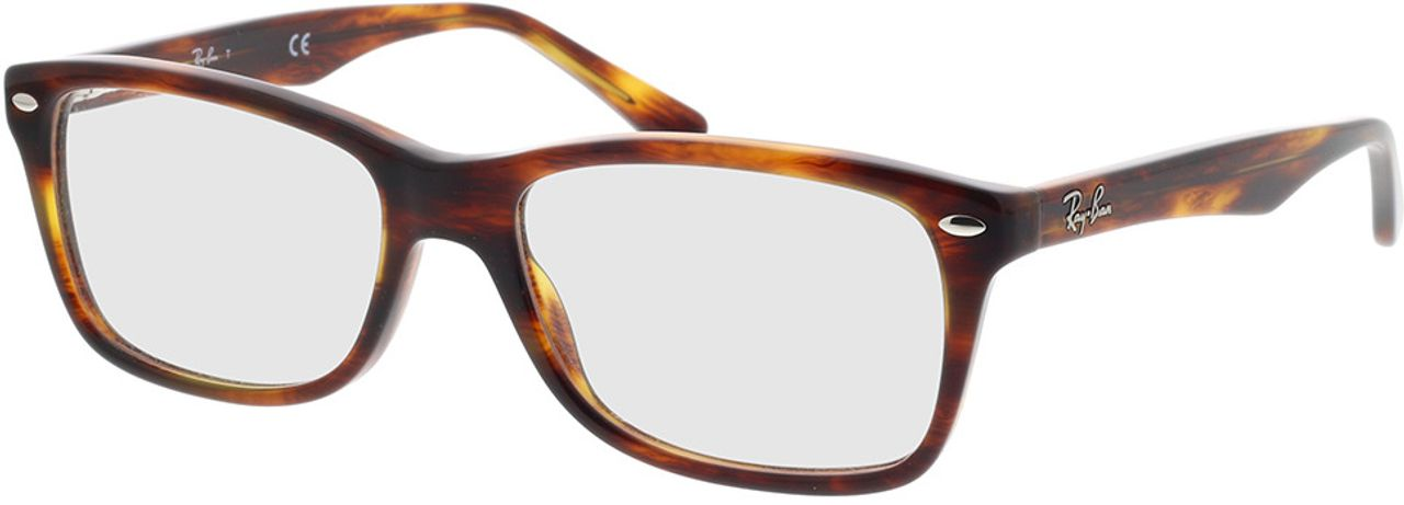 Picture of glasses model Ray-Ban RX5228 2144 55-17 in angle 330