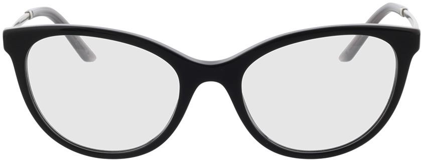 Picture of glasses model Prada PR 17WV 1AB1O1 53 in angle 0