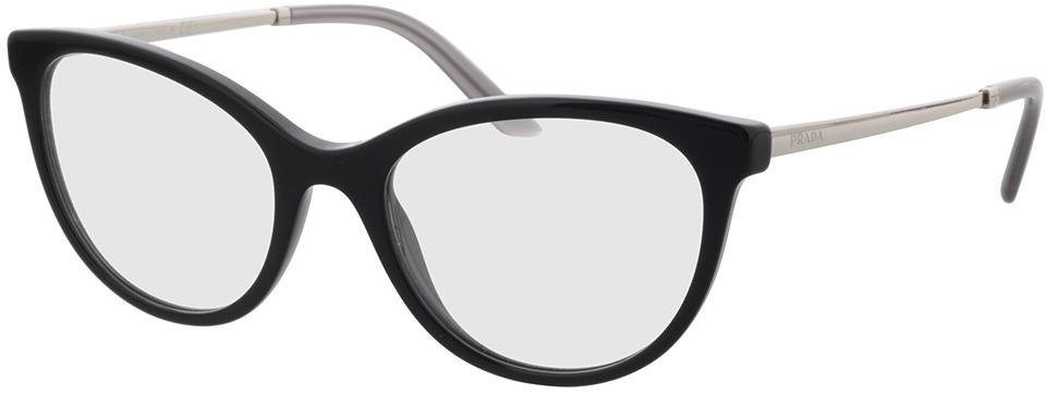 Picture of glasses model Prada PR 17WV 1AB1O1 53 in angle 330