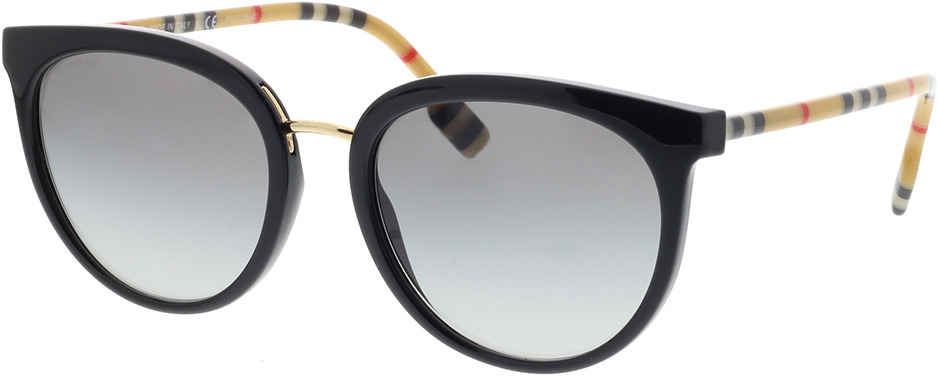 Picture of glasses model Burberry BE4316 385311 54-19 in angle 330