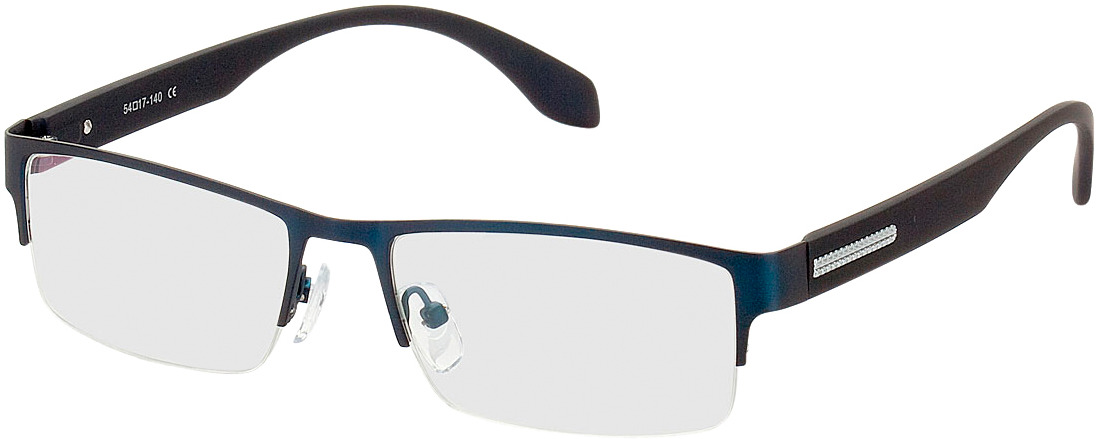 Picture of glasses model Stanley bleu in angle 330