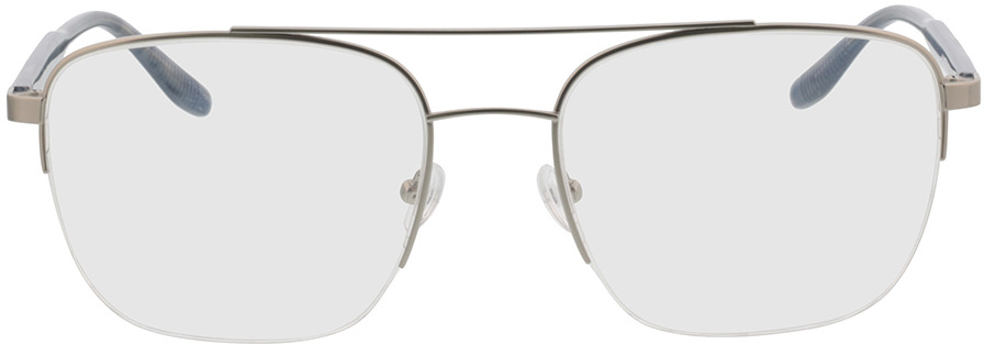 Picture of glasses model Zeus-silber/grau horn in angle 0
