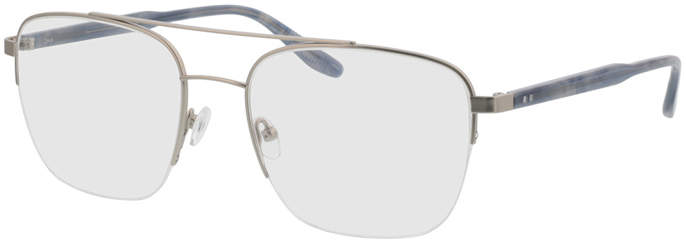 Picture of glasses model Zeus-silber/grau horn in angle 330