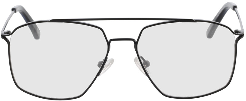 Picture of glasses model Harvey-schwarz/blau in angle 0