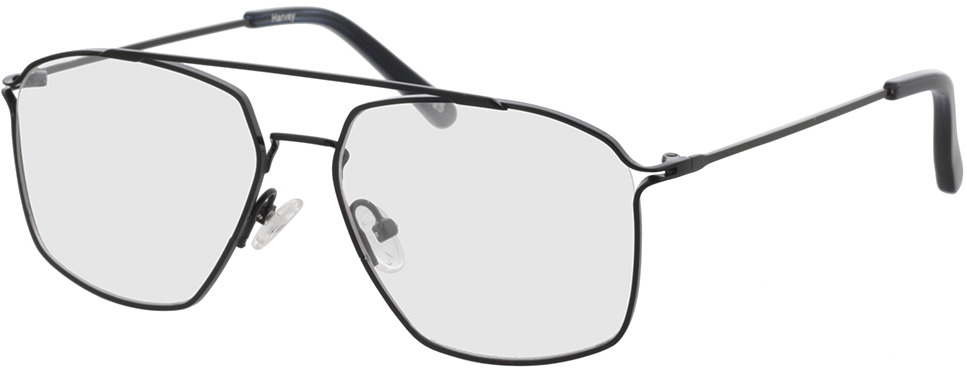 Picture of glasses model Harvey-schwarz/blau in angle 330