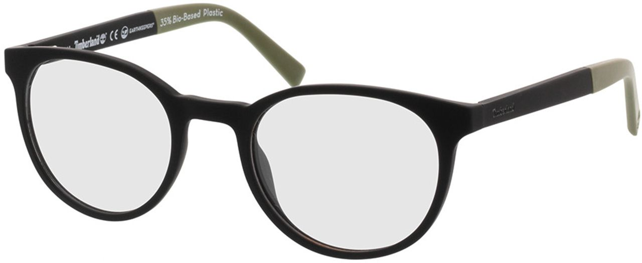 Picture of glasses model Timberland TB1584 002 50-21 in angle 330
