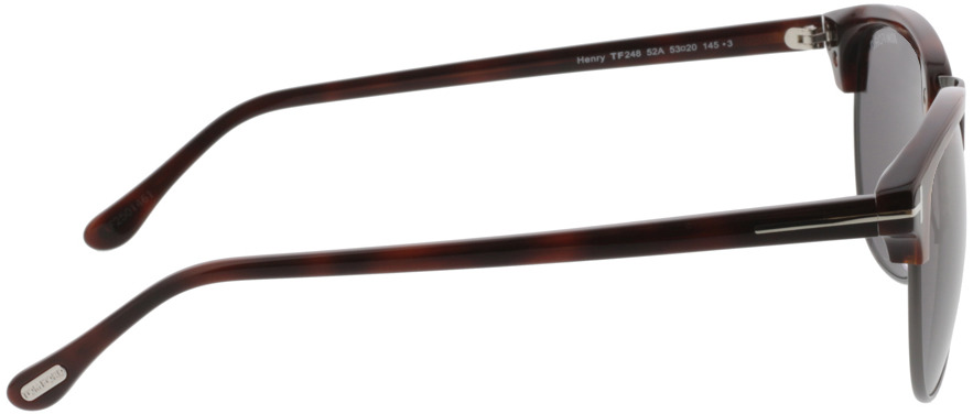 Picture of glasses model Tom Ford FT0248 52A 53 20 in angle 90