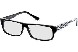 Monza-schwarz/weiß