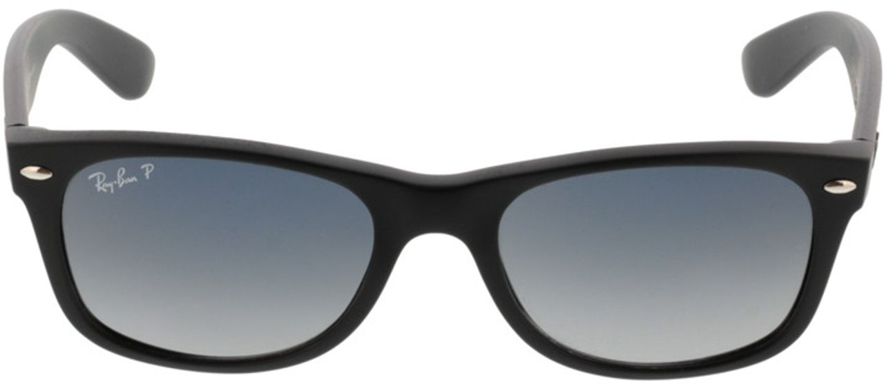 Picture of glasses model Ray-Ban New Wayfarer RB 2132 601S78 52-18 in angle 0