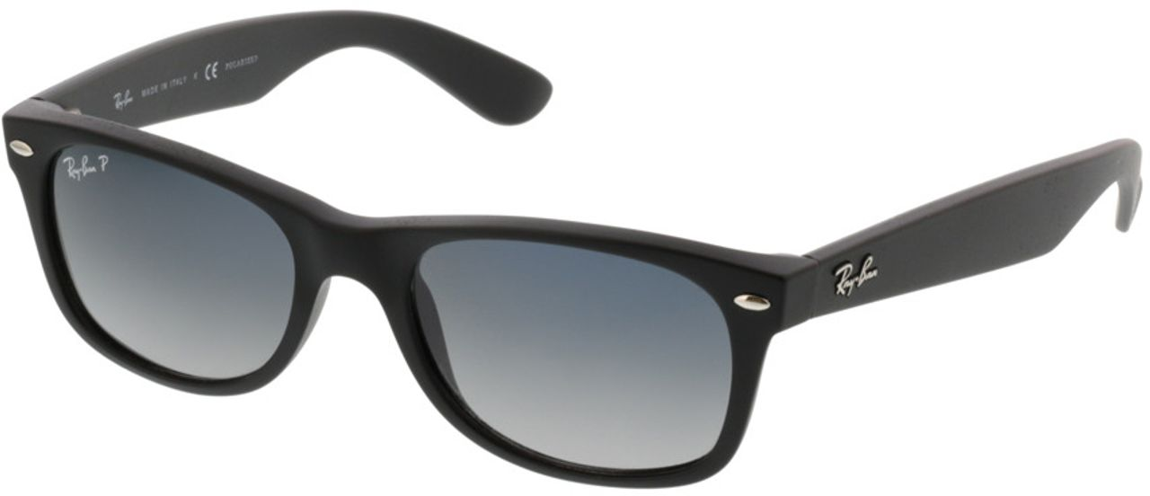 Picture of glasses model Ray-Ban New Wayfarer RB 2132 601S78 52-18 in angle 330
