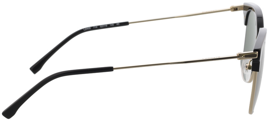 Picture of glasses model Lacoste L240S 714 52-19 in angle 90