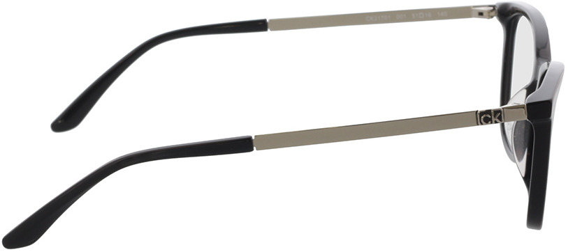 Picture of glasses model Calvin Klein CK21701 001 51-16 in angle 90