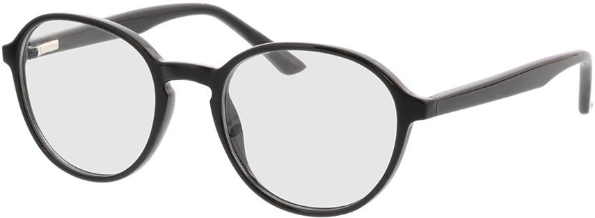 Picture of glasses model Decio-schwarz in angle 330