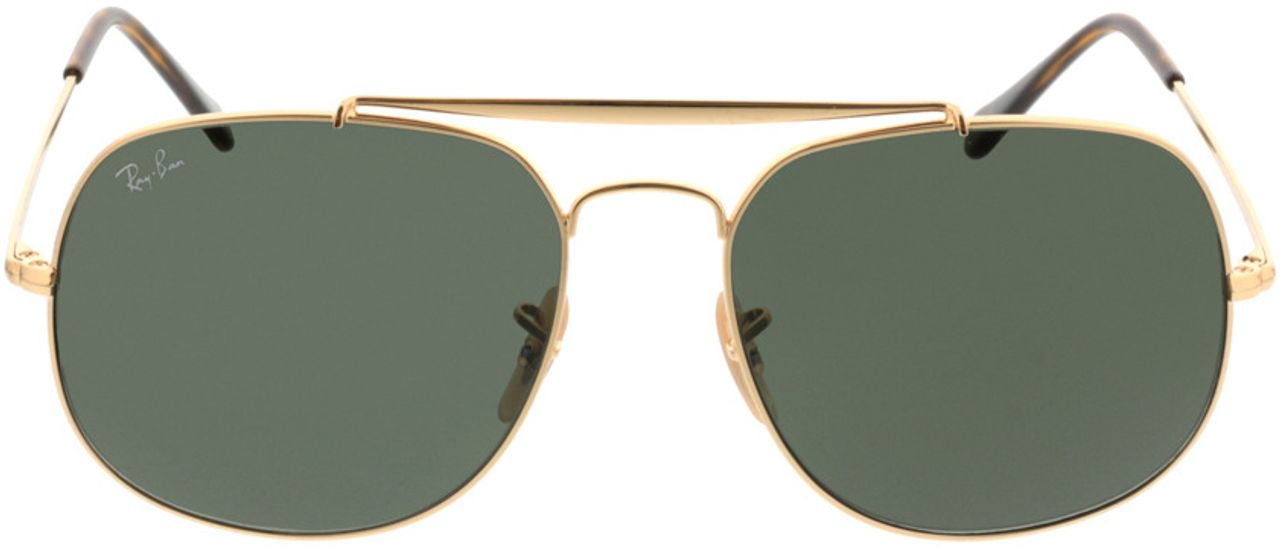 Picture of glasses model Ray-Ban RB3561 001 57-17 in angle 0