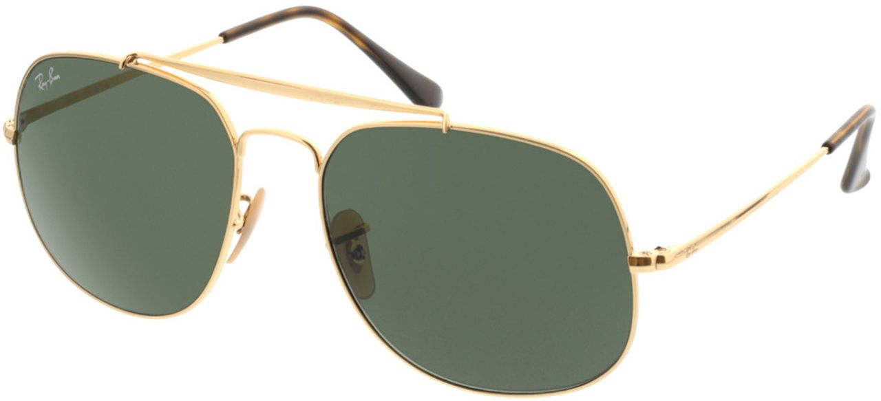Picture of glasses model Ray-Ban RB3561 001 57-17 in angle 330