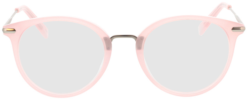 Picture of glasses model Dolina-rosa/matt silber in angle 0
