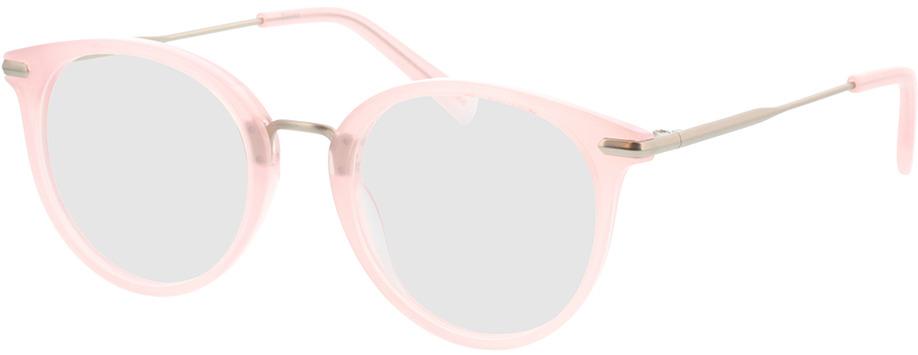 Picture of glasses model Dolina-rosa/matt silber in angle 330