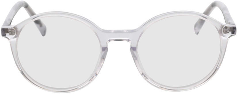 Picture of glasses model Reso-transparent in angle 0