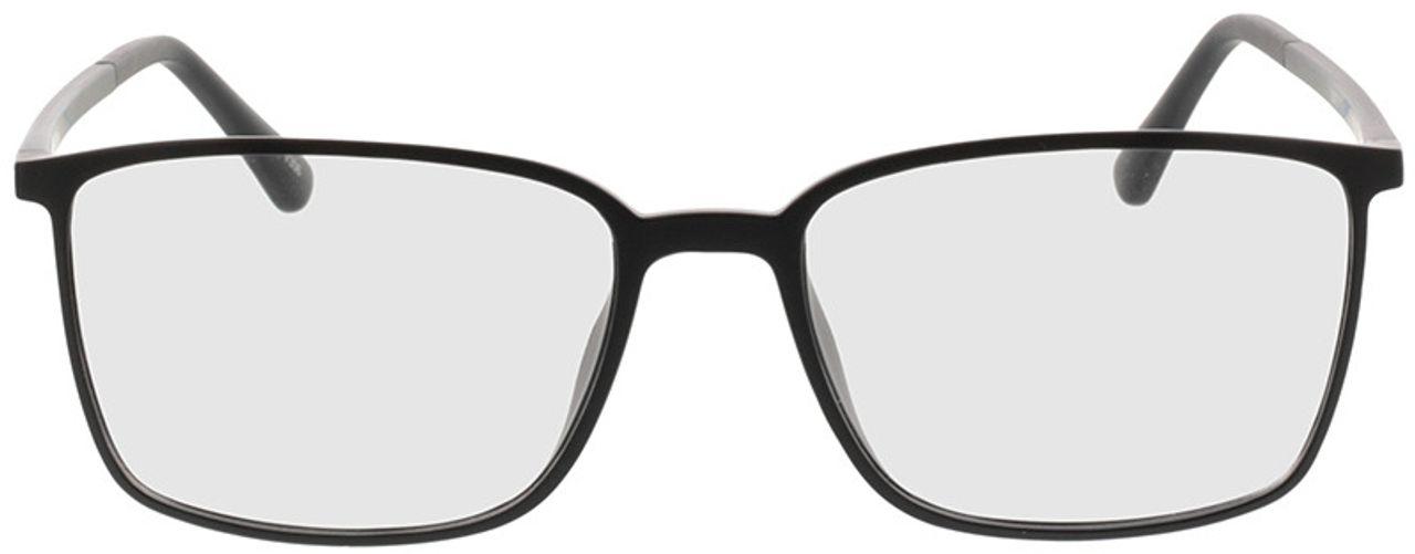 Picture of glasses model Elvas-matt schwarz in angle 0