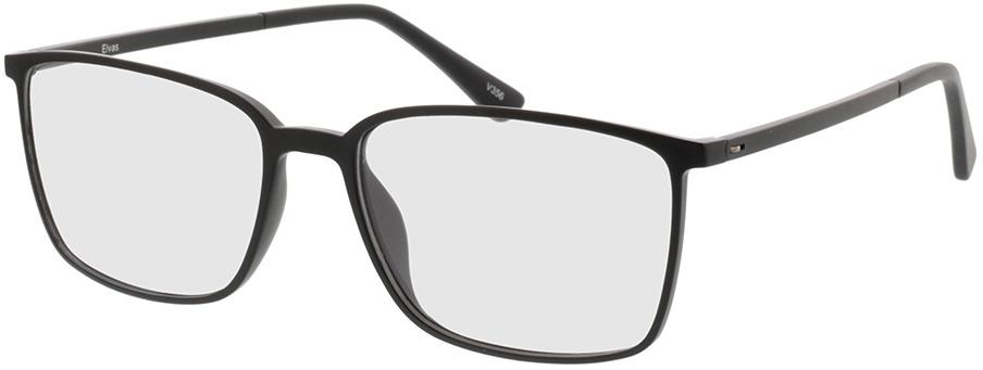 Picture of glasses model Elvas-matt schwarz in angle 330