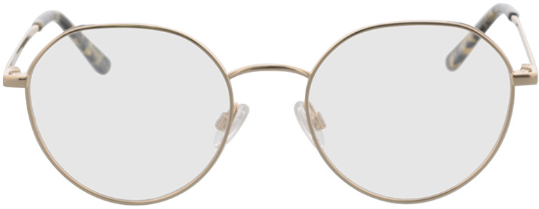Picture of glasses model Comma, 70124 80 gold/black 51-18 in angle 0
