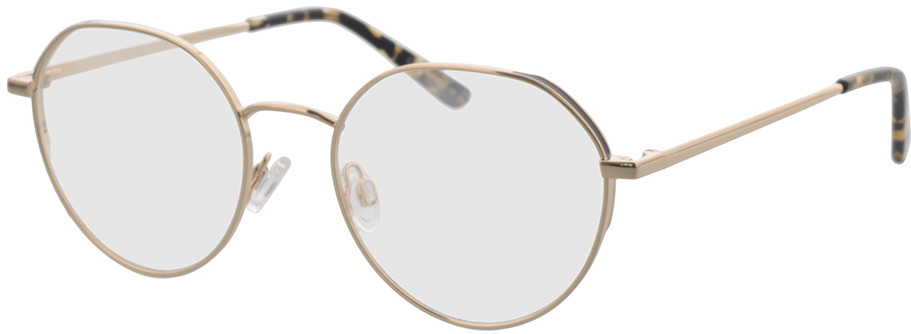 Picture of glasses model Comma, 70124 80 gold/black 51-18 in angle 330