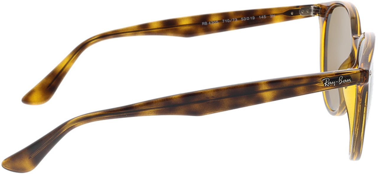 Picture of glasses model Ray-Ban RB4305 710/73 53-19 in angle 90