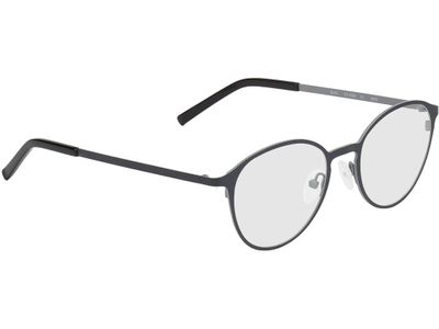 Brille Troyes-schwarz/grau