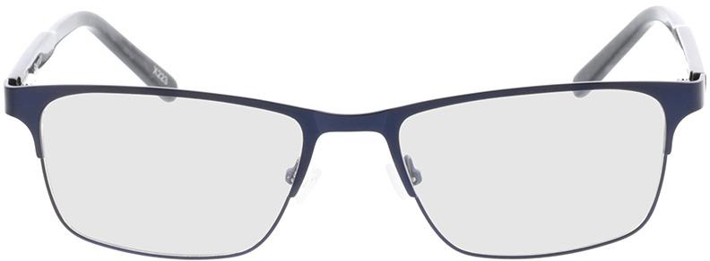 Picture of glasses model Sherman-blau/grau-meliert in angle 0