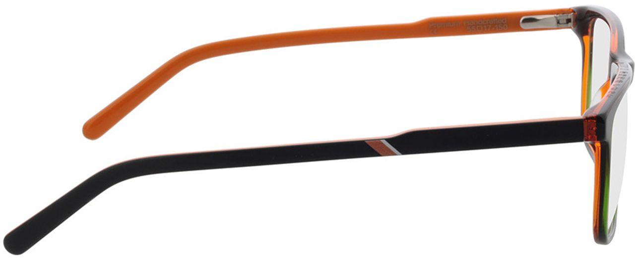 Picture of glasses model Superdry SDO Conor 104 black 55-17 in angle 90
