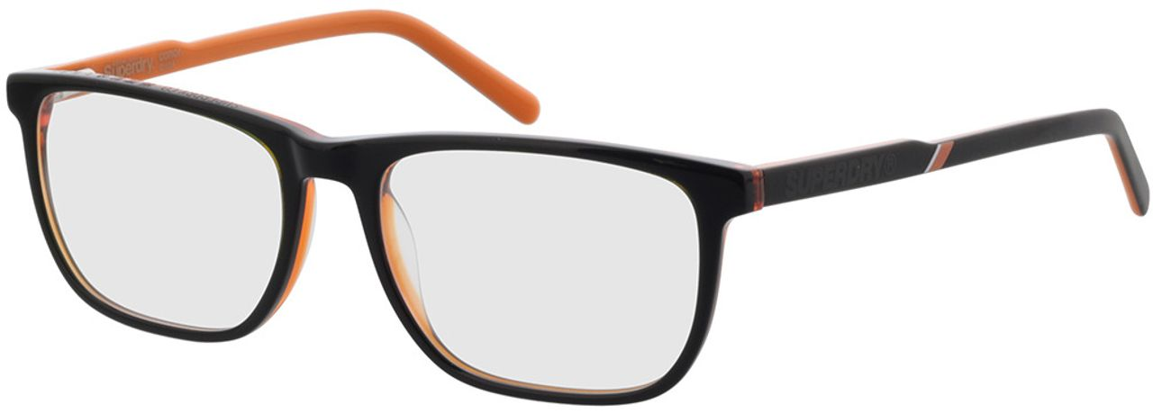 Picture of glasses model Superdry SDO Conor 104 black 55-17 in angle 330