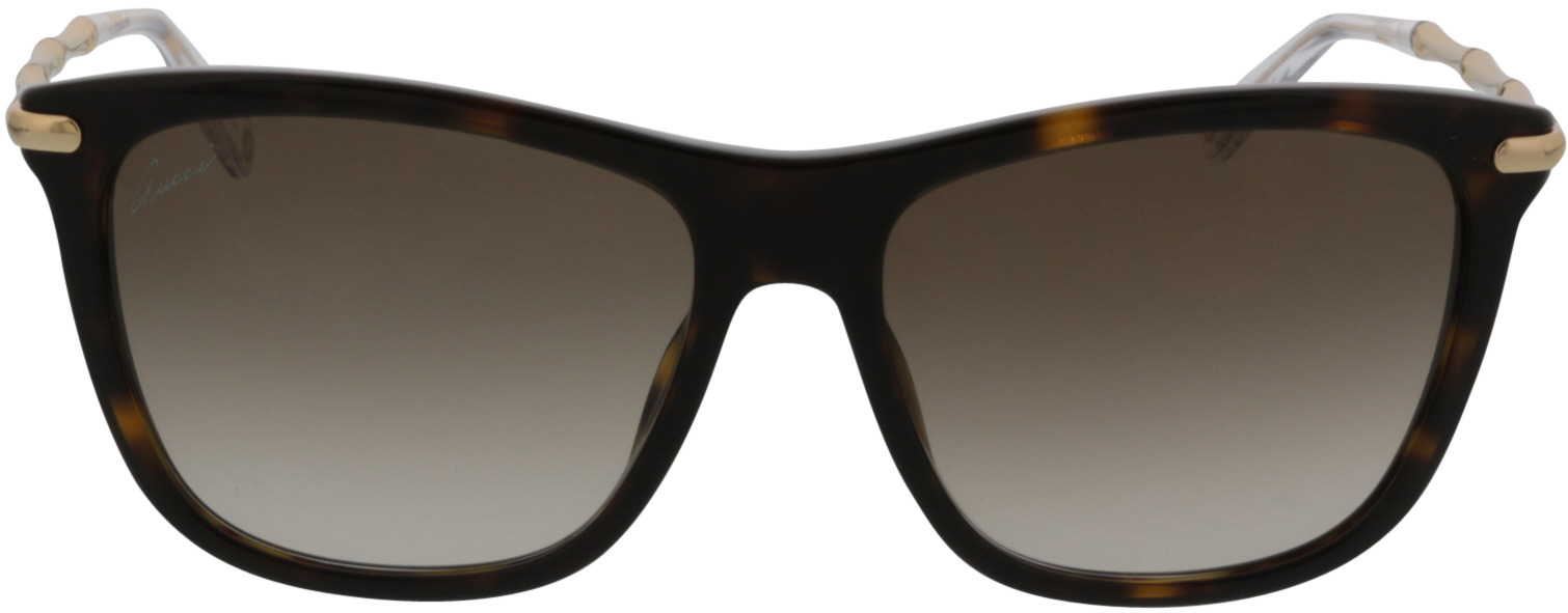 Picture of glasses model Gucci GG3778/S LVL 55-16 in angle 0