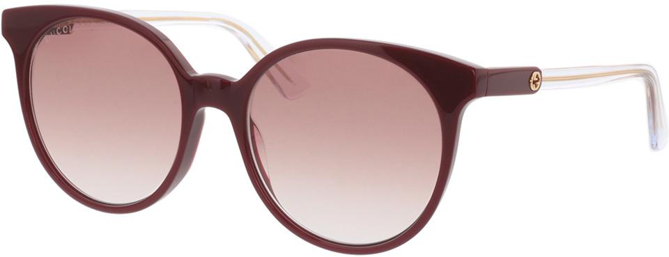 Picture of glasses model Gucci GG0488S-003 54-18