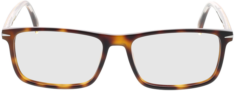 Picture of glasses model David Beckham DB 1019 WR9 54-16 in angle 0