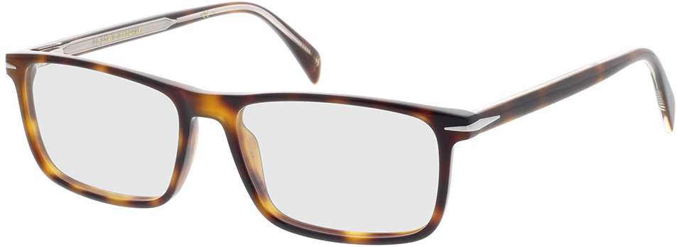 Picture of glasses model David Beckham DB 1019 WR9 54-16 in angle 330