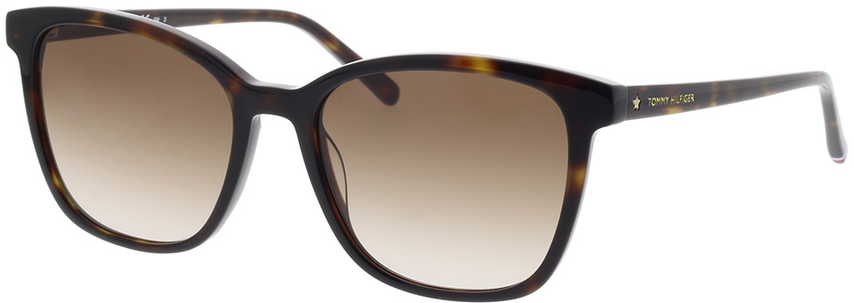 Picture of glasses model Tommy Hilfiger TH 1723/S 086 54-18 in angle 330