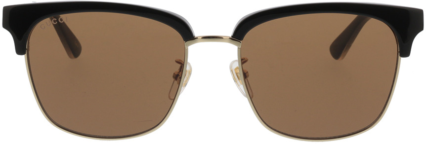 Picture of glasses model Gucci GG0382S-002 56-18 in angle 0