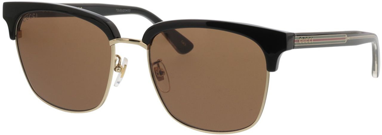 Picture of glasses model Gucci GG0382S-002 56-18 in angle 330