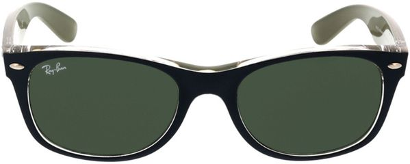 Picture of glasses model Ray-Ban New Wayfarer RB2132 6188 52-18 in angle 0