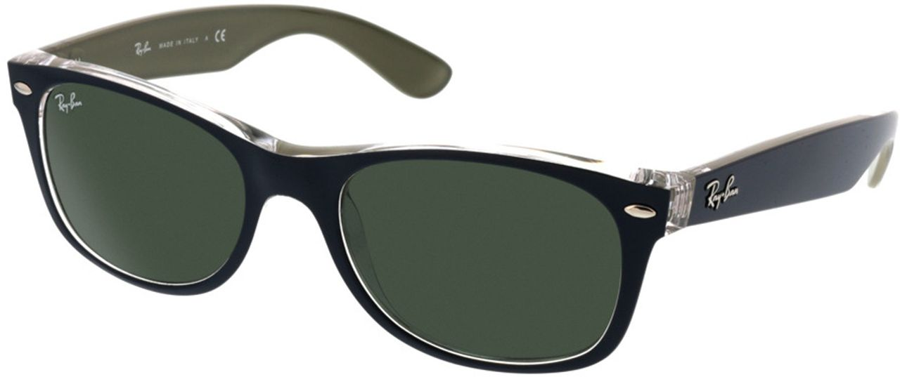 Picture of glasses model Ray-Ban New Wayfarer RB2132 6188 52-18 in angle 330
