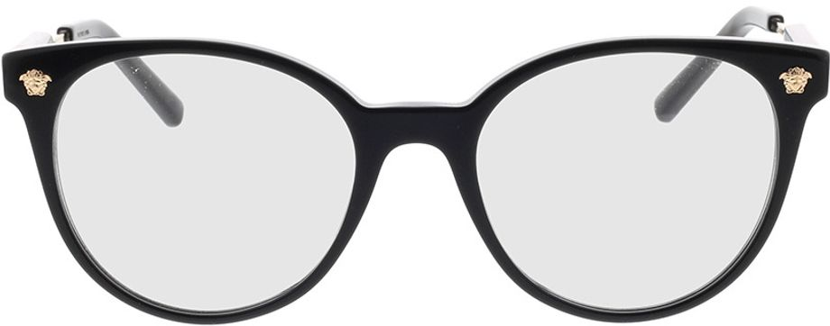 Picture of glasses model Versace VE3291 GB1 51-18 in angle 0