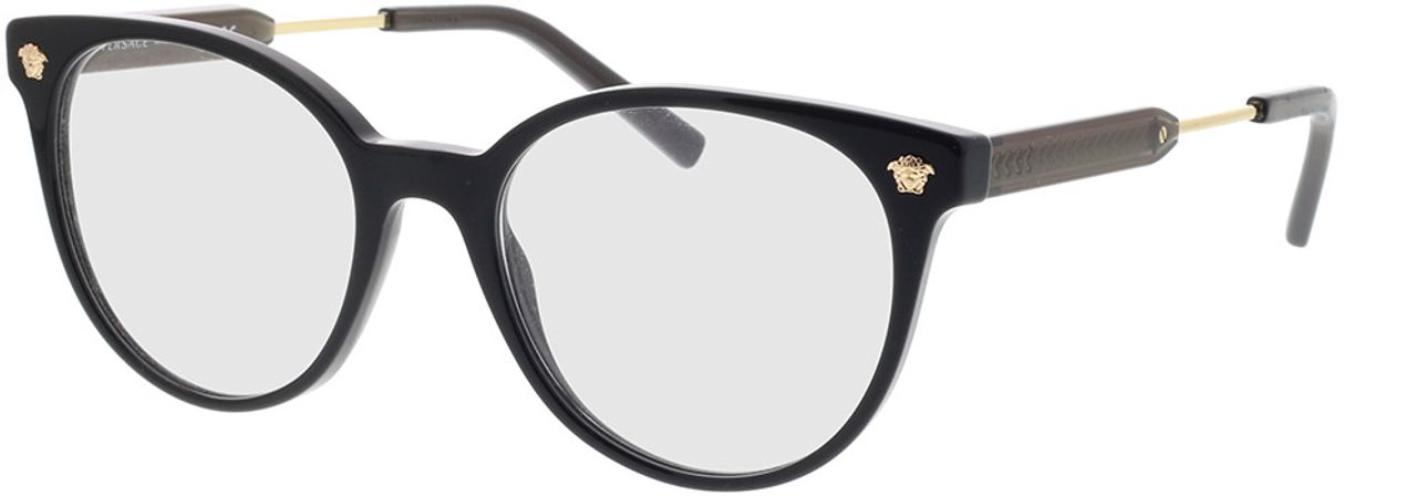 Picture of glasses model Versace VE3291 GB1 51-18 in angle 330