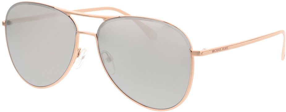 Picture of glasses model Michael Kors MK1089 11086G 59-14 in angle 330