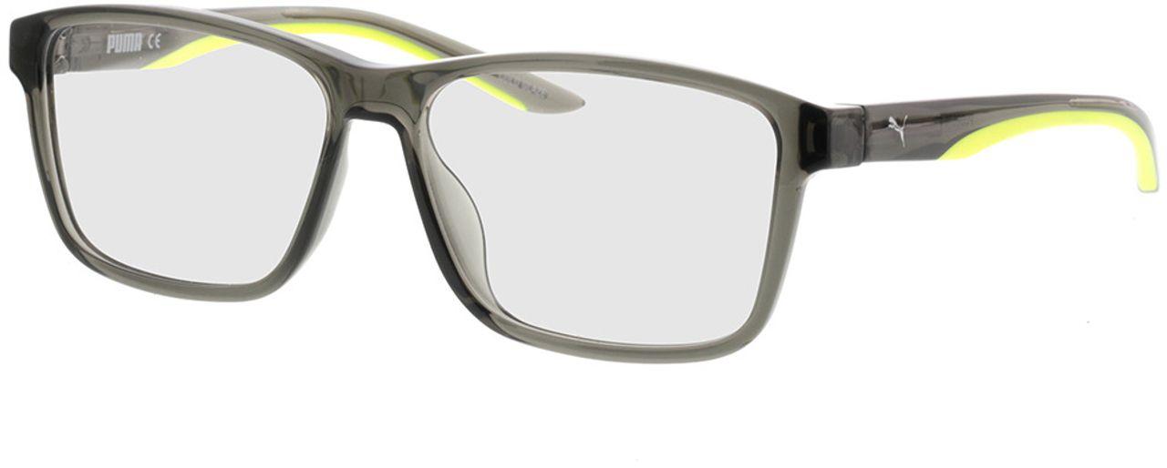 Picture of glasses model Puma PU0207O-003 57-15 in angle 330