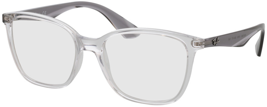 Picture of glasses model Ray-Ban RX7066 5768 52-17 in angle 330