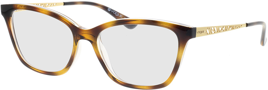 Picture of glasses model Vogue VO5285 1916 53-16 in angle 330
