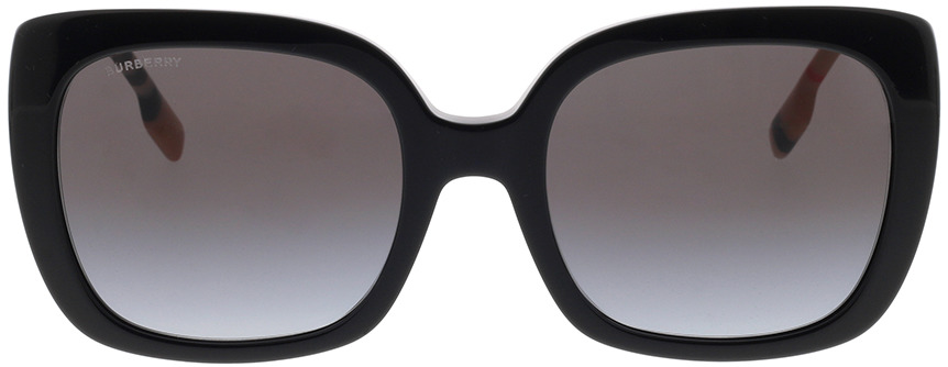 Picture of glasses model Burberry BE4323 38538G 54-20 in angle 0