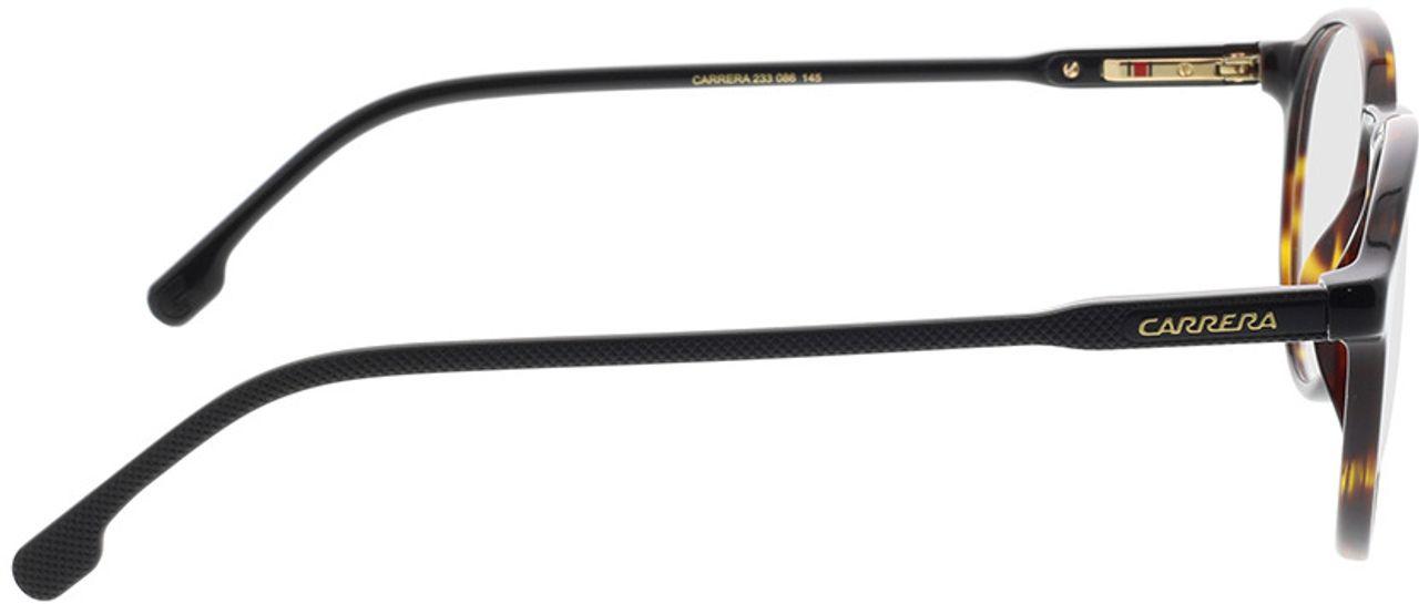 Picture of glasses model Carrera CARRERA 233 086 50-21 in angle 90